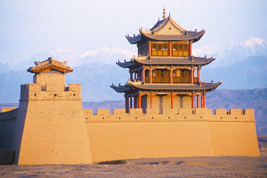 Jiayuguan Great Wall | Dr Steven A Martin | Study Abroad Journal | China Study Tour