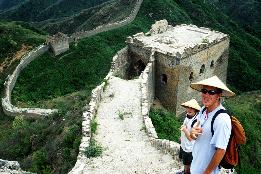 Jinshanling Great Wall | Dr Steven A Martin | Study Abroad Journal | China Study Tour | University of Hawaii
