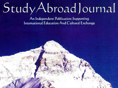 Study Abroad Journal Online Magazine Cover