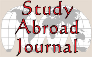 Online Study Abroad Journal Logo