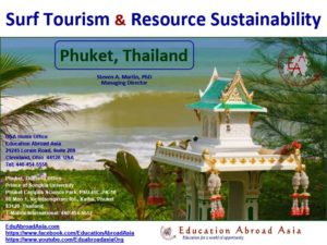 Dr Steven Martin - Surf tourism research - Study Abroad Journal