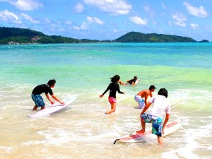 Surf tourism - Stusy in Phuket - http://www.educationabroadasia.com
