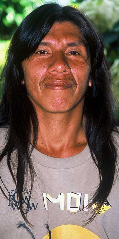 Moi Enomenga - Huaorani Indian - Environmental - Ecuador