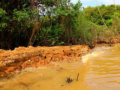 Study Abroad Journal | Laterite soil and process on the Tonle Sap | Dr Steven A Martin