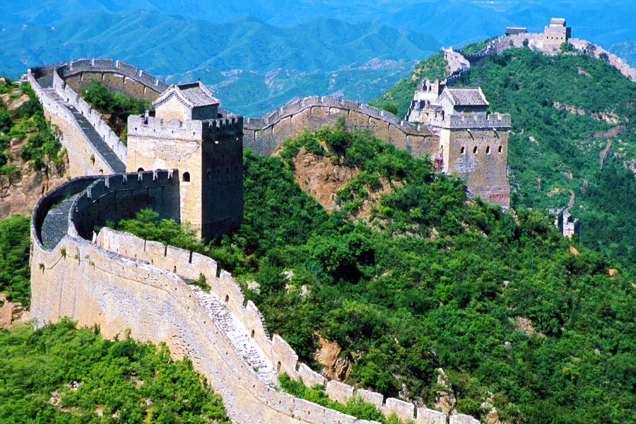 Jinshanling Great Wall   Dr Steven A Martin   Study Abroad Journal   China Study Tour   Hiking the Great Wall
