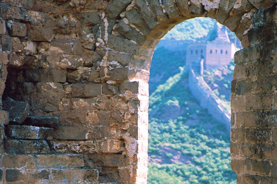 Jinshanling Great Wall   Dr Steven A Martin   Study Abroad Journal   China Study Tour