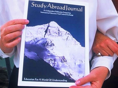 Study Abroad Journal - About SAJ Cover