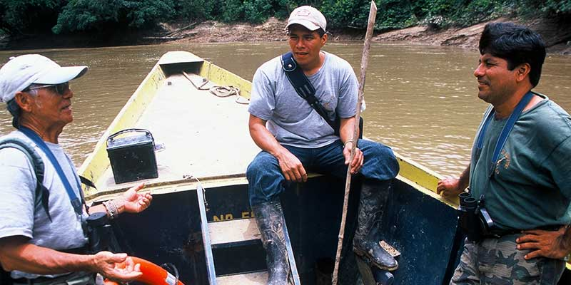 Study Abroad Journal's Quechua Indian guides, USFQ Ecuador | Dr Steven A Martin | Amazon